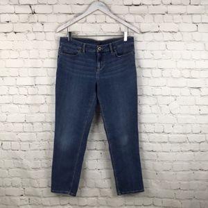 J. Jill Authentic fit slim ankle Jeans size 6P